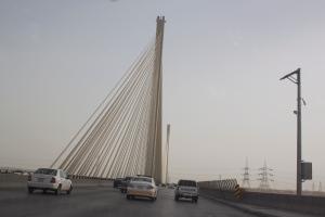 Hanging Bridge in Riyadh