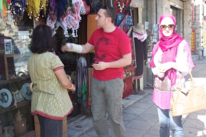 Buying Souvenirs