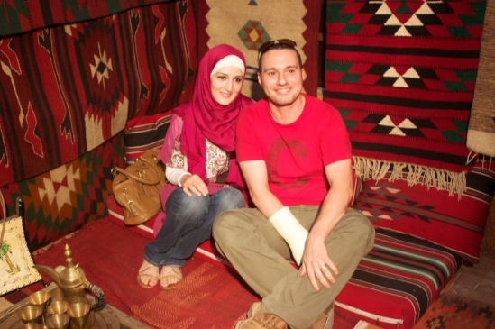 Mugeeth and his Wife