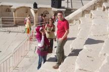 At Roman Amphitheatre