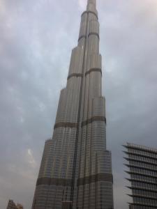 Burj Al Khalifa from Dubai Mall.