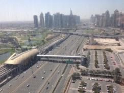 Sheikh Zayed Road.
