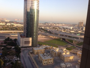 View from the hotel.