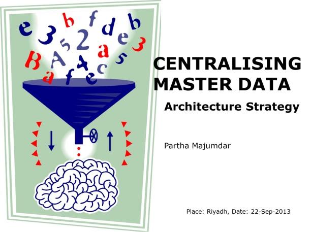 Centralising Master Data - Slide 1