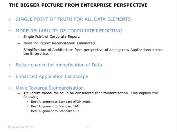 Centralising Master Data - Slide 8