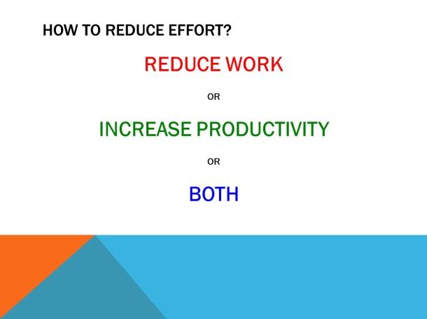 Increasing Efficiency – Slide 4