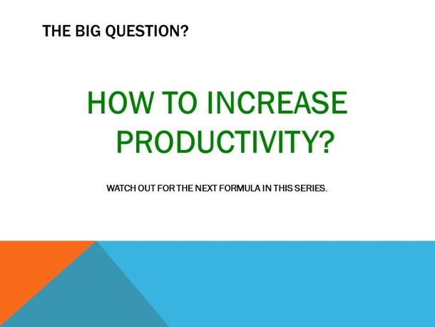 Increasing Efficiency – Slide 9