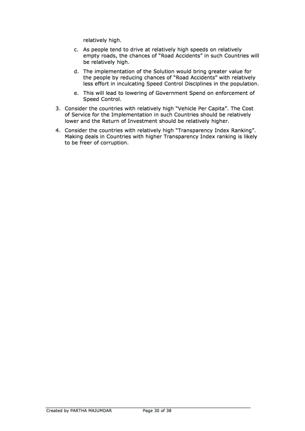 Preventing and or Reducing Road Accidents - Technology + Market + Implementation - Iteration 1 - 20131104 - Page 30